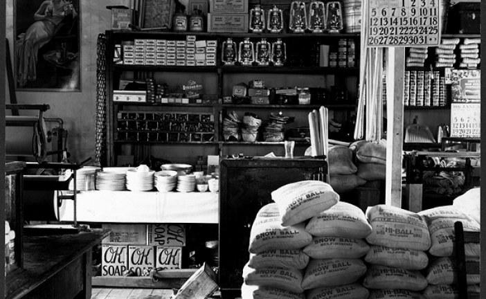کسب و کاری پر رونق از درون مغازه پدری