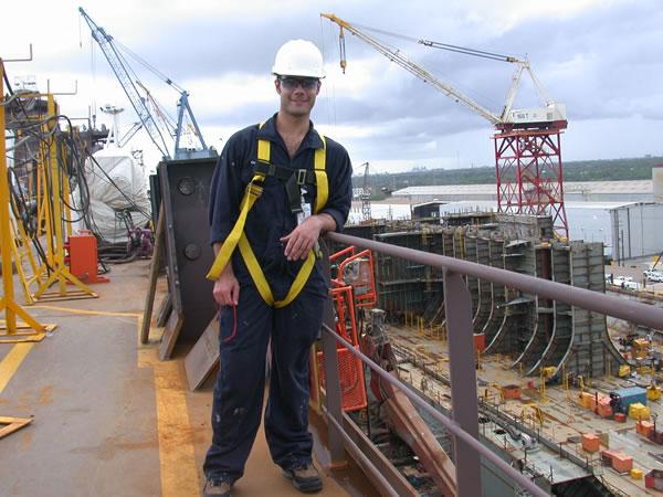 وضعیت درآمد و استخدام مهندس دریا