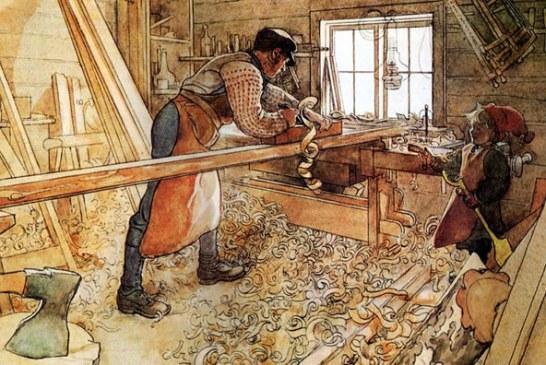 نگاهی به مهارت ، دانش و میزان درآمد نجار